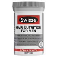 Swisse Hair Nutrition For Men 60 Capsules