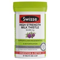 Swisse High Strength Milk Thistle 60 Tablets
