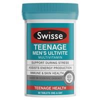 Swisse Teenage Men's Ultivite 60 Tablets