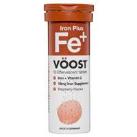 Voost Iron Plus Effervescent 10 Tablets
