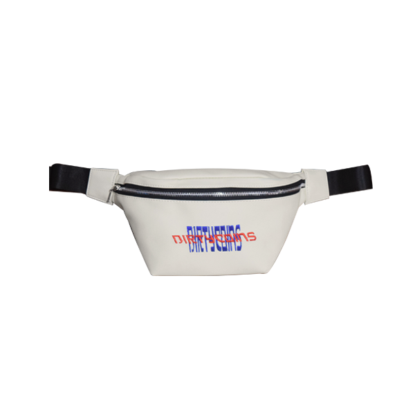 'Year 02' White waist bag