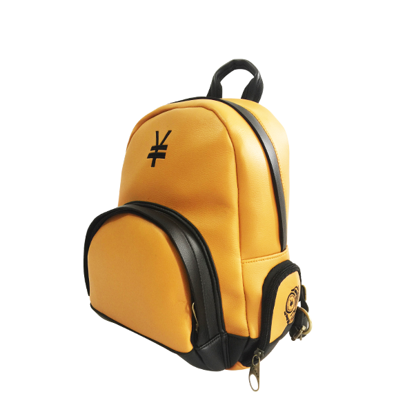 'Dirty Coins' minimal backpack ( Yellow )