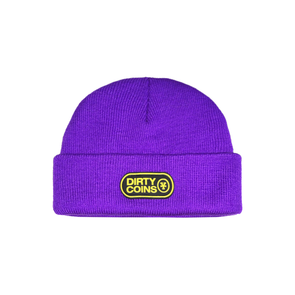 Basic beanie hat (Purple)
