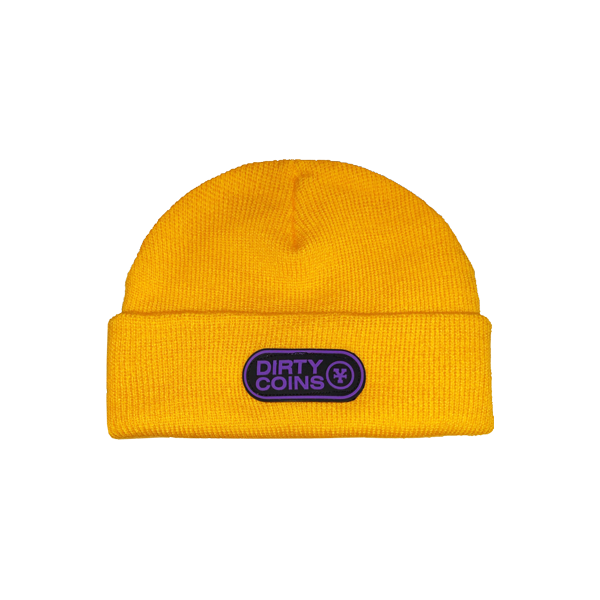 Basic beanie hat (Yellow)