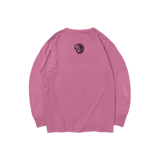 'Dirty Coins' long sleeve with big logo  ( Pink )
