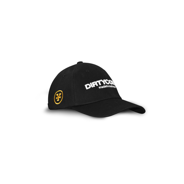 Dirty Coins logo cap