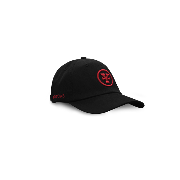 Signature Y Baseball cap (black/red)