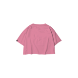 Cropped t-Shirt with cupids (pink)