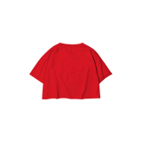 Cropped t-Shirt with cupids (red)