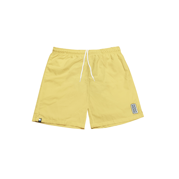 'DCS' track shorts ( Yellow )