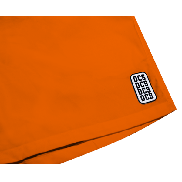'DCS' track shorts ( Orange )