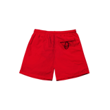 'DCS' track shorts ( RED )