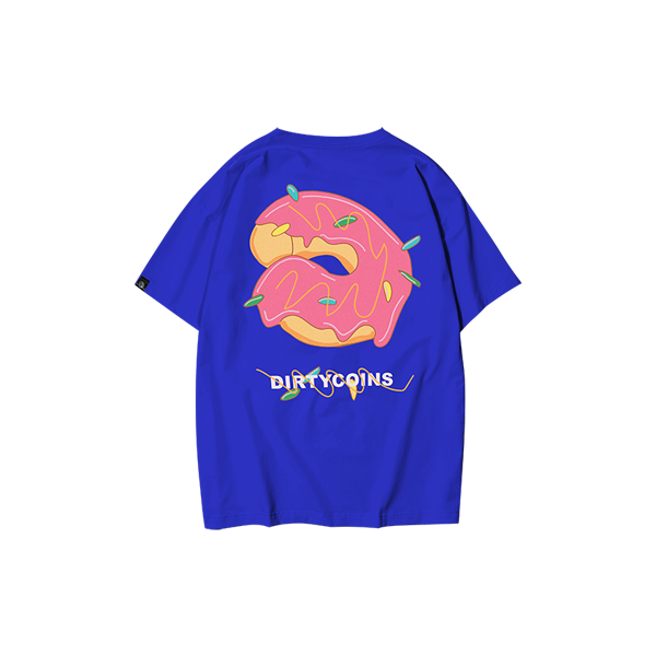 'Dirty Coins' Donut T-shirt 1.0 (Navy Blue)