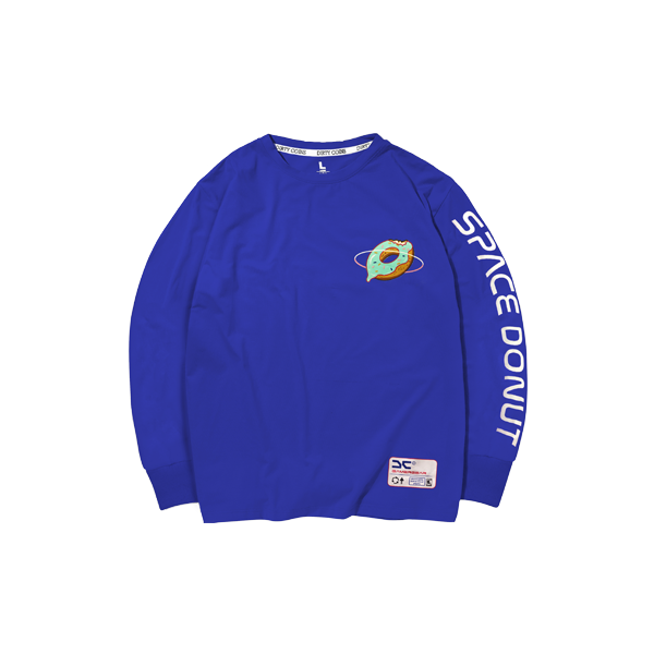 Space donut long sleeve (Navy Blue)