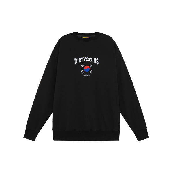 Korea sweater ( Black )