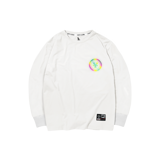 'Dirty Coins' Long sleeve hologram (White)