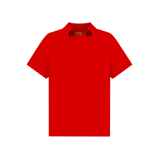'Dirty Coins' logo polo ( Red )