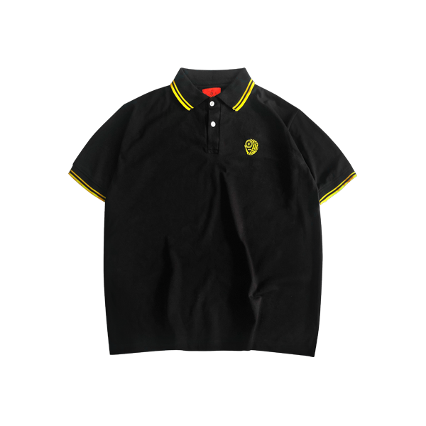 'Dirty Coins' logo polo ( Yellow )
