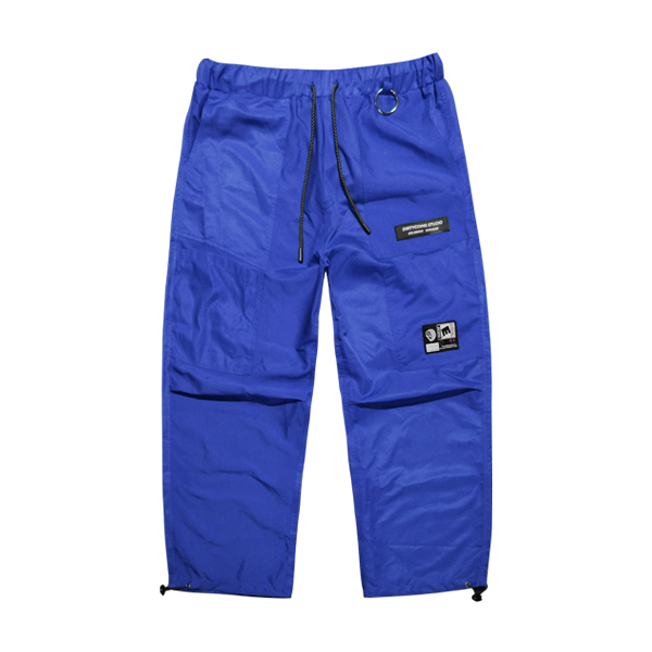 'Dirty coins' shine pants (navy blue)