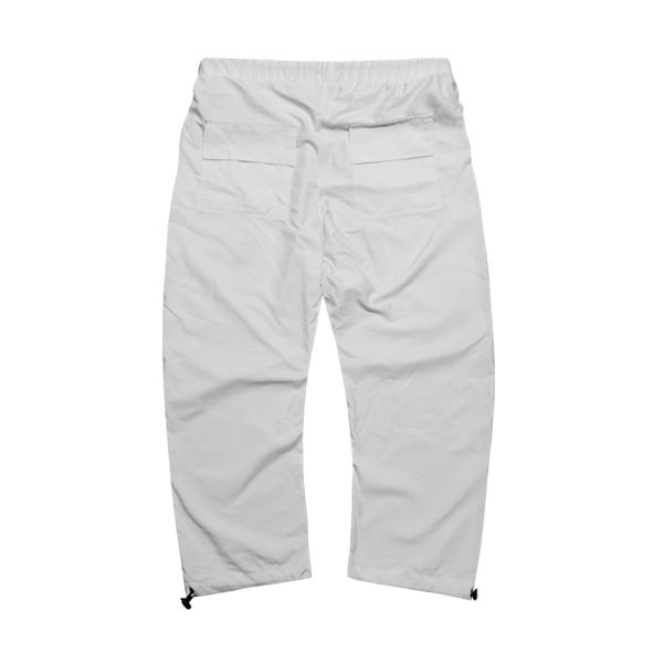 'Dirty coins' shine pants (white)