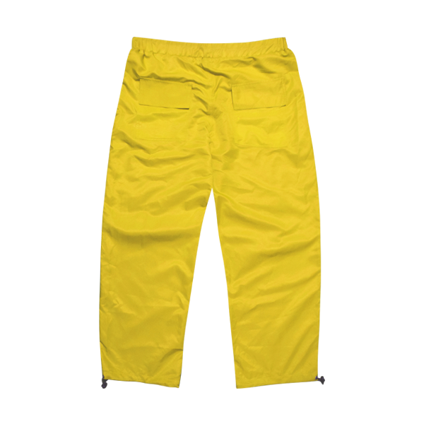 'Dirty coins' shine pants (Yellow)