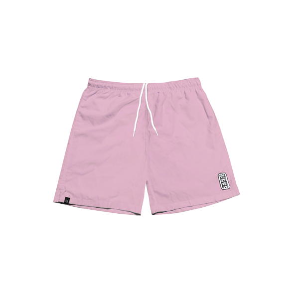 'DCS' track shorts (Light pink)