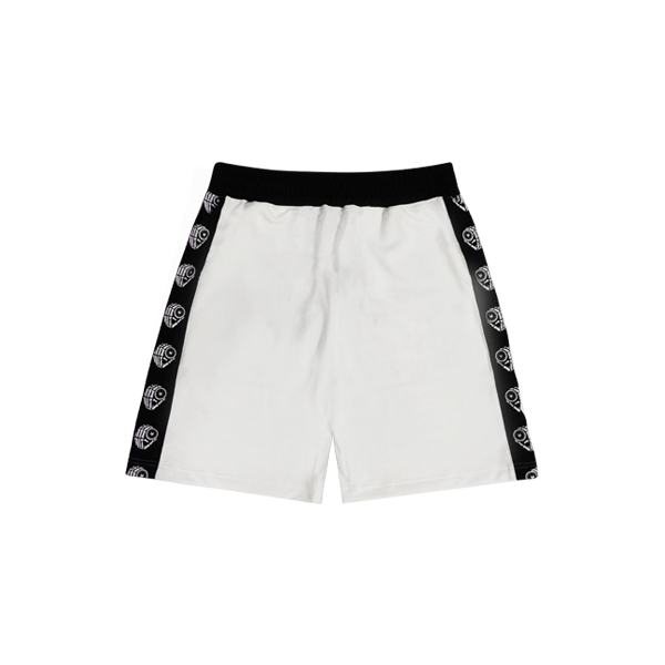 'Dirty Coins' Track short ( White )