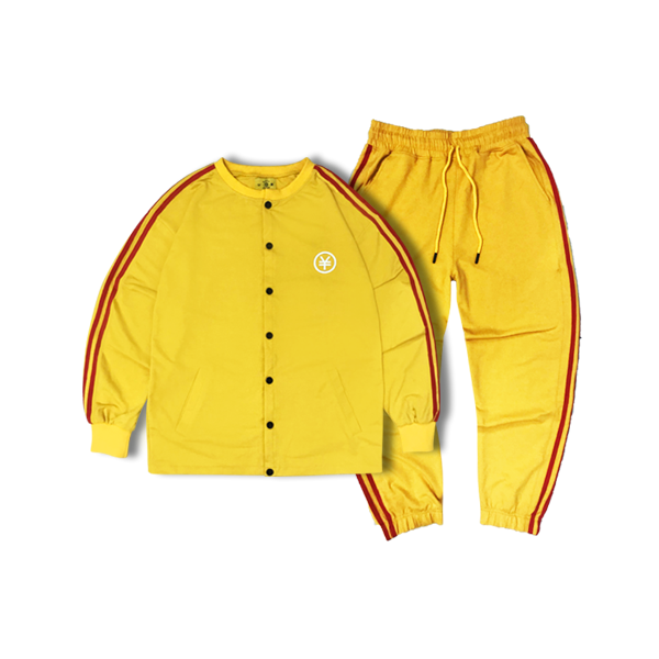 (All set) Dirtycoins track suit (Yellow)