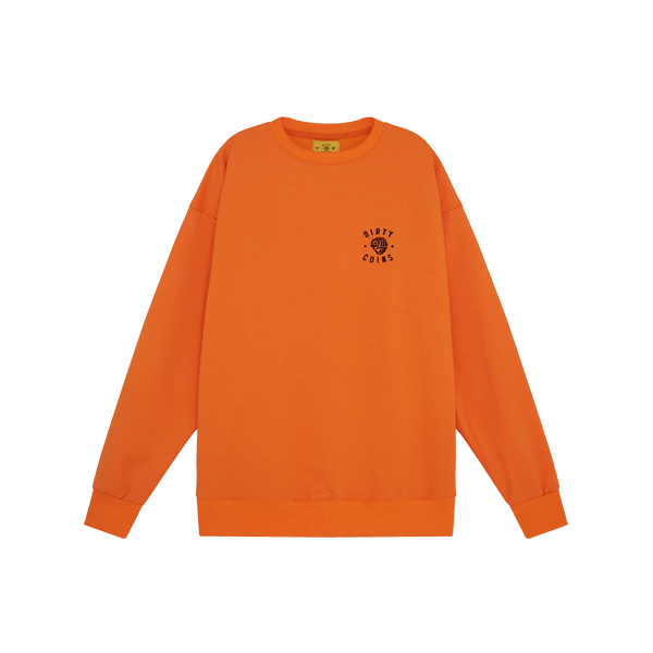 'Dirty Coins' logo sweater