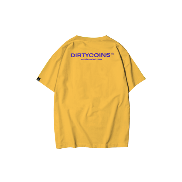 Basic t-shirt V2 (Yellow)