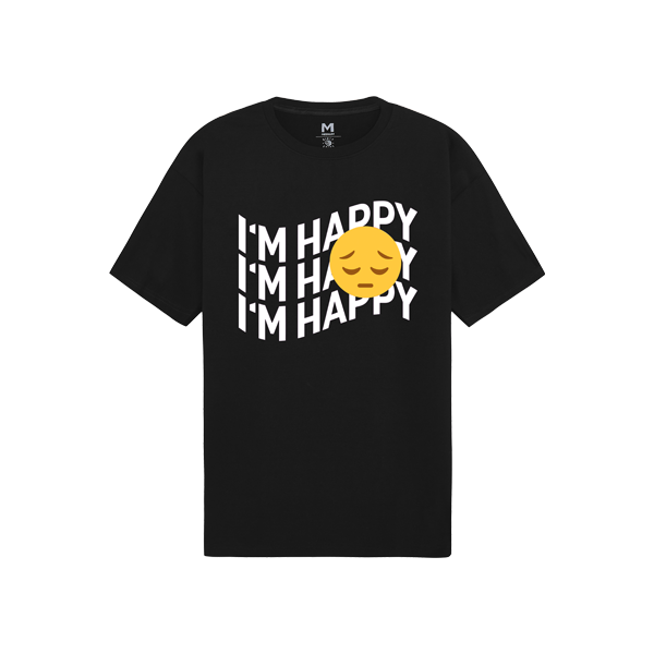 'Dirty Coins' I'm Happy T-Shirt
