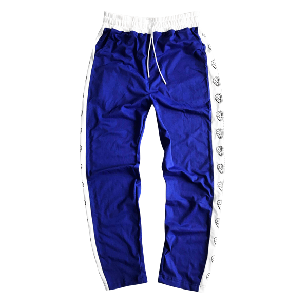 'Dirty coins' logo track pants