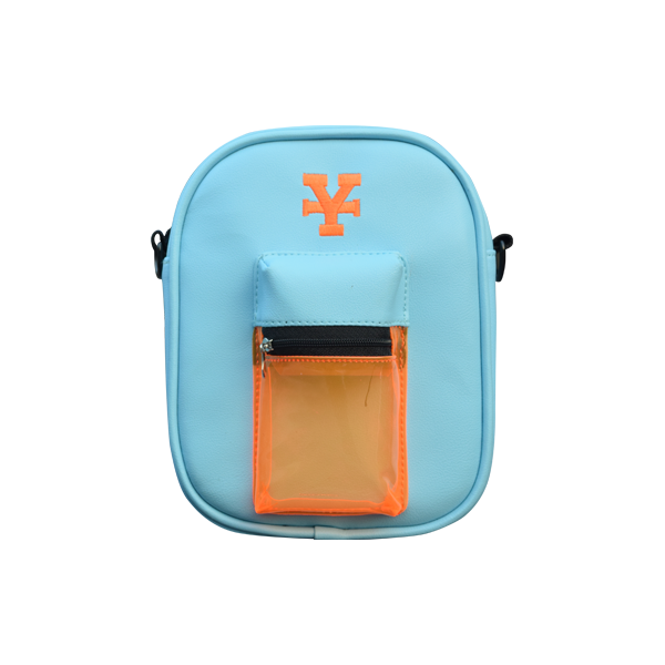 Multicolor Messenger bag (Baby Blue)