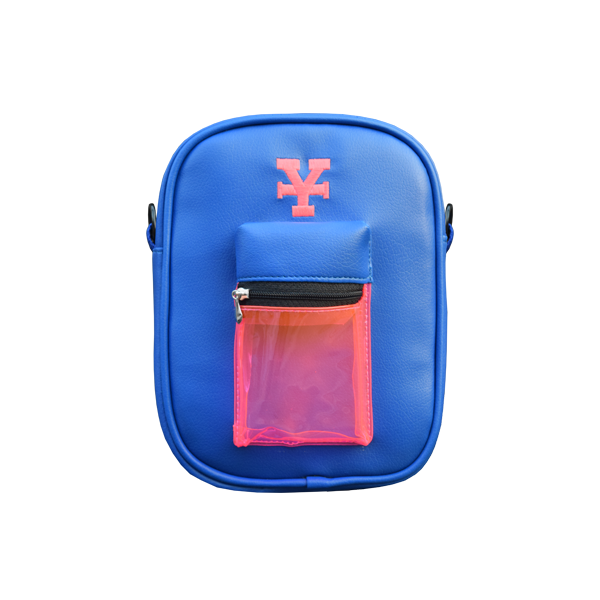 Multicolor Messenger bag (Blue)