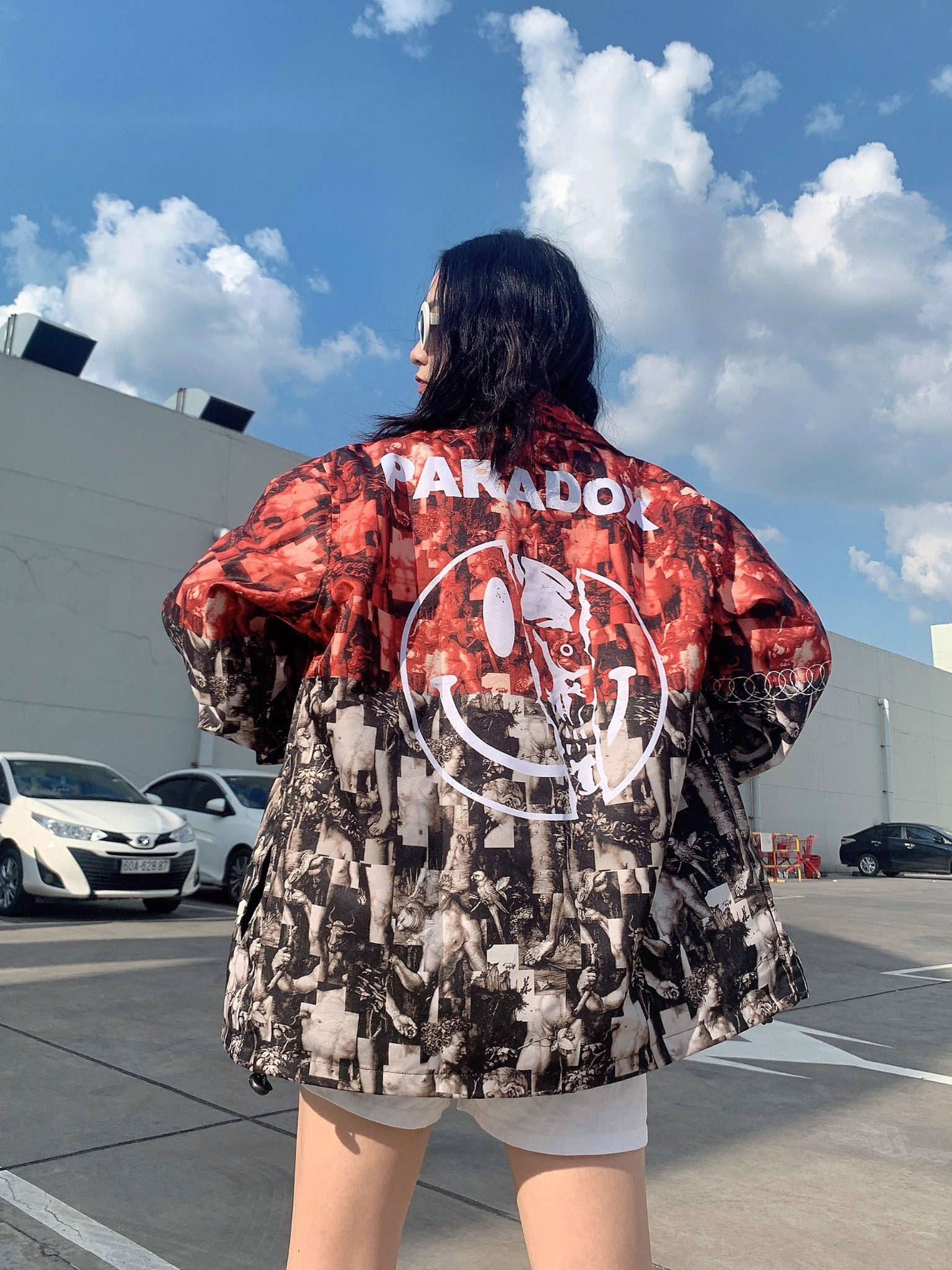 UNME OVER-PRINTED JACKET