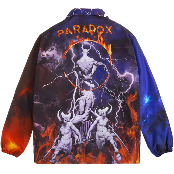 HELL BORDER OVER-PRINTED JACKET