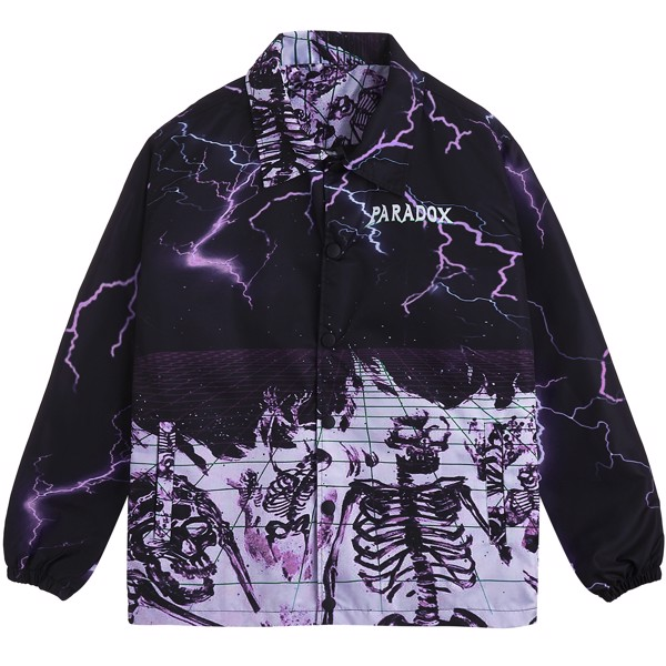 ELECTRIC SHOCK OVER-PRINTED JACKET