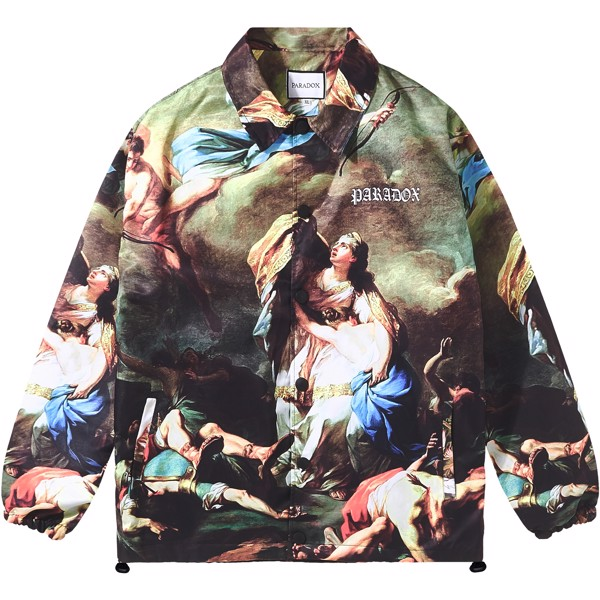 SALVATION OVER-PRINTED JACKET
