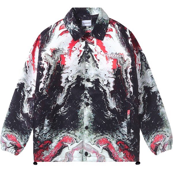 AION OVER-PRINTED JACKET