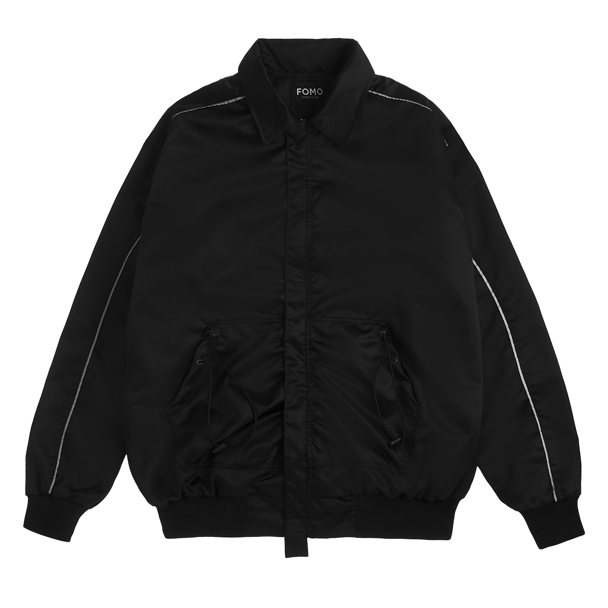 DRAWSTRING JACKET/Black