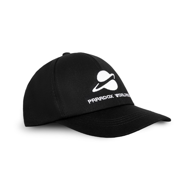UNIVERSAL CAP (BLACK) - WHITE WORDING