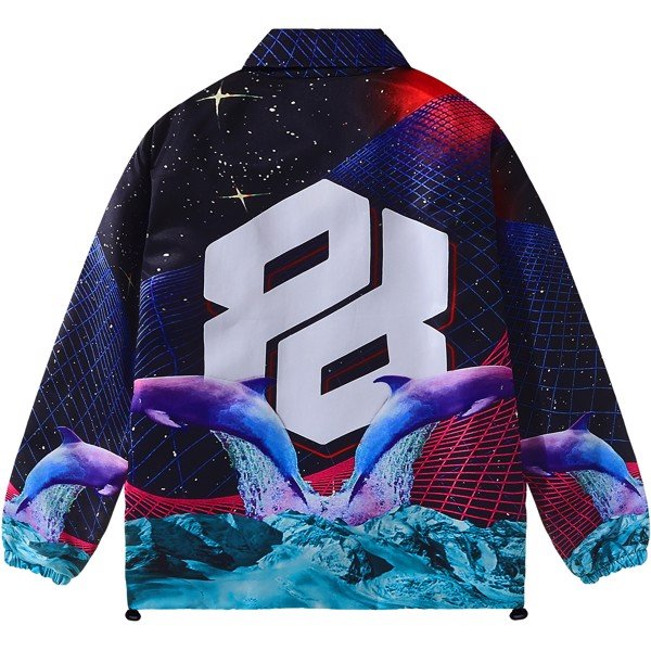 DAMIANOS OVER-PRINTED JACKET