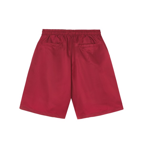 ESSENTIAL SHORT - BURGUNDY RED