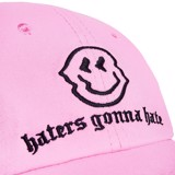 HATERS CAP (PINK) - BLACK WORDING