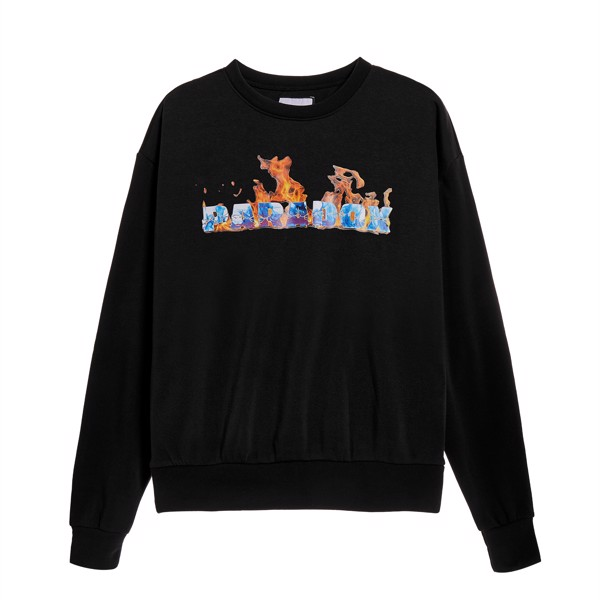 FLAME SWEATER (Black)