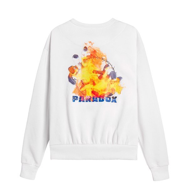 FLAME SWEATER (White)