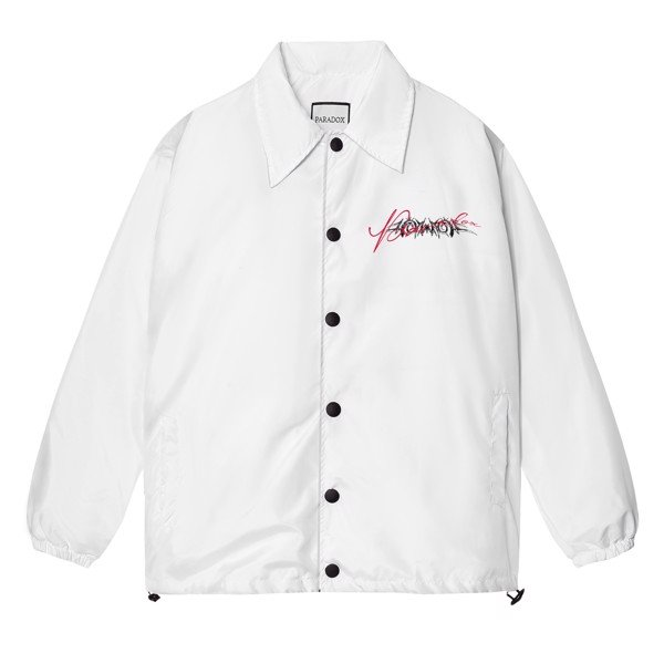 LOVE HANDCUFFS OVER-PRINTED JACKET (White)