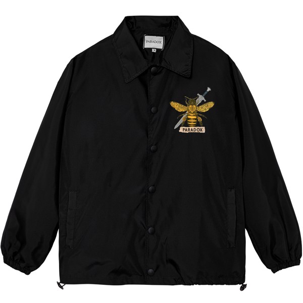 EKOSYSTEM OVER-PRINTED JACKET (Black)