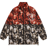 UNME ZIP OVER-PRINTED JACKET