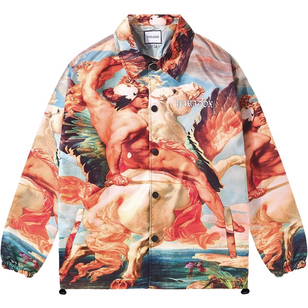 FLY MAN OVER-PRINTED JACKET